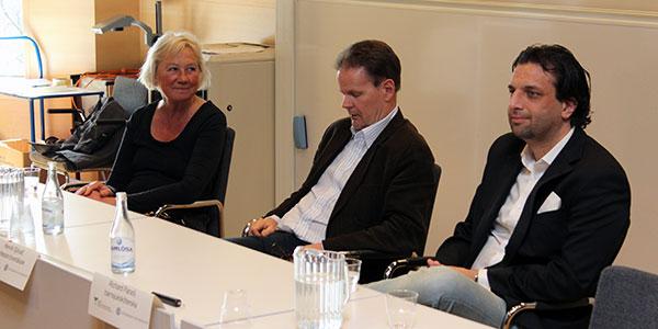 EXPERTSVAR. Birgitta Lindquist, Henrik Sjövall  och Richard Paradi svarade efter bästa förmåga.