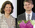 Niklas Mattsson fick ta emot pris av drottning Silvia