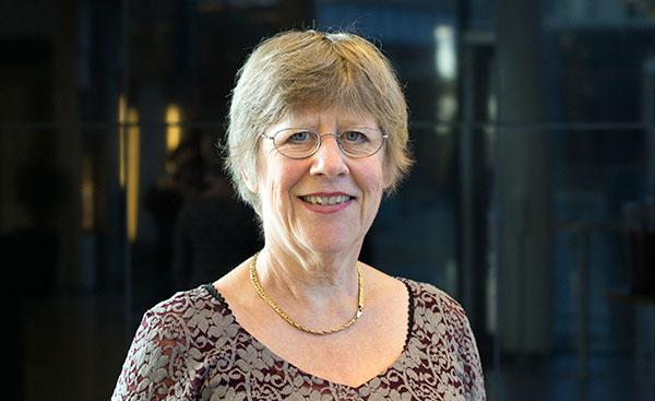 Agnes Wold. Foto: Elin Lindström Claessen/GU.