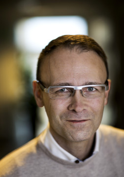 Martin Bergö. Foto: Johan Wingborg/GU.
