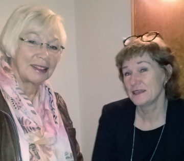 Birgitta Linderhall och Gunnel Andersson
