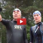 Forskarkollegor i hårdträning inför VM i Swimrun – Web-TV