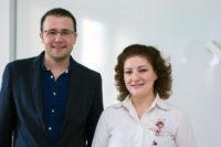 Hamza och Manar – två syriska tandläkare som kompletterar sin utbildning på Odontologen