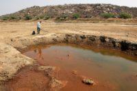 Kazipally sjön  vid Hyderabad i Indien är ett av de vattendrag där det finns gott om multiresistenta bakterier. Foto: Patrik Skön
