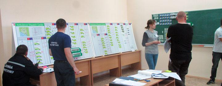 Övningstillfälle i Ukraina tidigare i år.