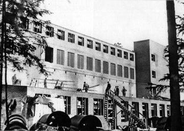 Svenska Rayon-aktiebolaget var den största svenska tillverkaren, vars verksamhet startade i Vålberg i Värmland 1942.