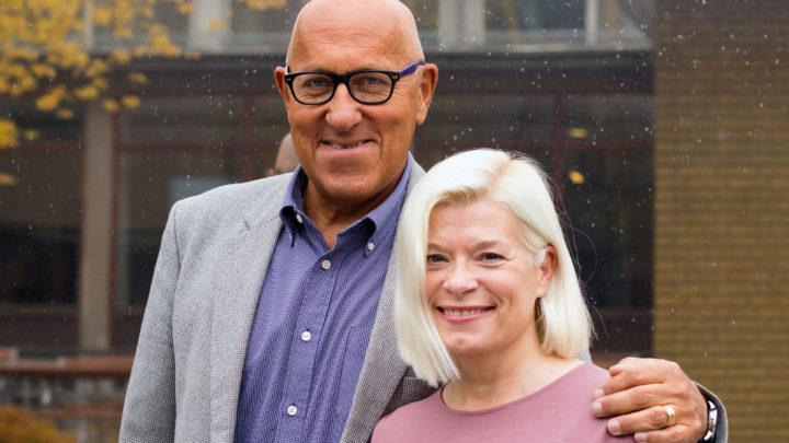 Hans-Inge Persson och Mia Berg