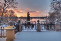 Vintergryning vid slott vann tredje instagramtävlingen