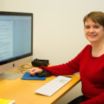 Rosie Perkins trains researchers in scientific writing at the Wallenberg Laboratory