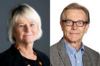 Pam Fredman och Karl Swedberg får Göteborgs Stads förtjänsttecken