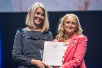 Kristina Johansson prisad på världens största allergimöte