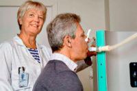 Mätning av partiklar i utandningsluft väckte intresse på lungkongress