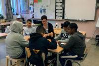 Sahlgrenska akademins studenter inspirerade sjätteklassare på Hisingen