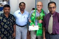 Göran Kurlberg utsedd till gästprofessor i Nepal