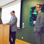 Stor fokus på unga forskare när VR besökte Sahlgrenska akademin
