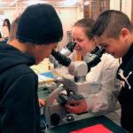 Skolbarn från Hisingen fick testa på universitetslivet