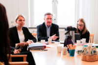 Fruitful meeting when the Ministry of Education and Research visited Sahlgrenska Academy