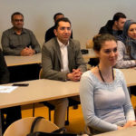 Newly arrived researchers received information on fast track to the university