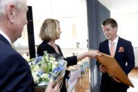BILDEXTRA – Prisade medarbetare firades med festlig middag