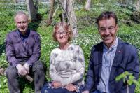 Jan, Anna och Gudmundur tar över ledningen för institutionen för medicin