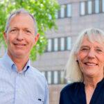 Peter och Agneta bildar ny ledningsduo för institutionen för odontologi