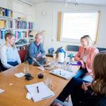 Alla planer går i lås för gästprofessor från Århus